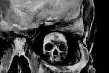Skull-Paintings (amazing!)