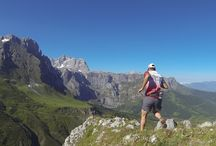 Trail running in Picos