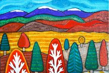 Artsy Oil Paintings