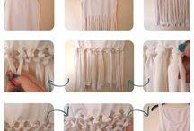 DIY shirts / Customize your shirts