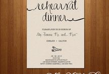 Rehearsal Dinner / by Bethany Suhn