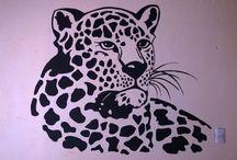 Art, wall murals / murales y pinturas