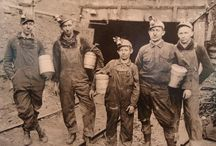 Growing up in coal mining camps.