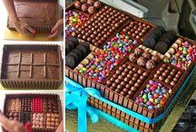 Decorated cakes