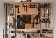 Tools cabinet.