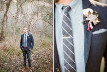 grooms + groomsmen / by Laura Harris