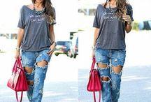 Como usar jeans / Dicas de forma diferentes de usar o nosso bom jeans.