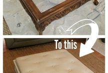 Møbler: lage noe nytt eller fornye
