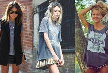 Oversized tee - Fashion / Oversized tee - Fashion  moda, fashion, trend, blogger, toda charmosa