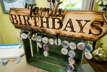 Family Birthdays Craft Projects