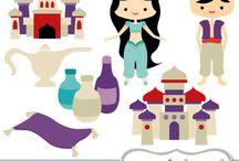 Art & Doodles - Disney - Aladdin