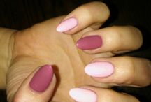 Moje pazurki :) My own nails or my clients:))