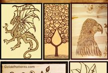 wood burning ideas