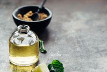 Oil food photography