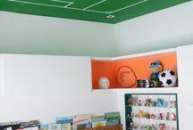 Tetos decorados / O teto também merece atenção na hora de decorar a casa! Além de garantir maior beleza no ambiente, o teto decorado traz mais criatividade ao ambiente.