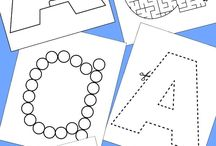 Letter Themes A-Z / Ideas for Activities, Crafts, and Books for Letter Themes A-Z, Tot School, Preschool