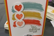 Stampin Up - Work of Art / by Becca Matlock