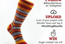 Win Free Yarn with Biscotte Yarns on Instagram / Are you knitting Biscotte hand-dyed yarns? Every month, get a chance to win a 50$ gift card on Instagram. To participate, it's easy: STEP 1 -Follow @BiscotteYarns on Instagram STEP 2 -Post a pic of your project knitted with Biscotte Yarns on Instagram and tag it #knittingbiscotte... then you only need to keep your finger crossed until the end of the month!!  More details here: https://biscotteyarns.com/pages/win-free-yarn