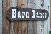 Barn dance wedding / Barn dance rustic wedding barn ideas / by Becky Joiner