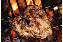 Caribbean Jerk Chicken / Dedicated to Caribbean Jerk Chicken!!