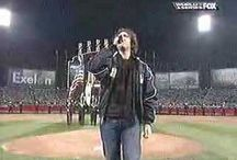 The National Anthem at the Ball Park