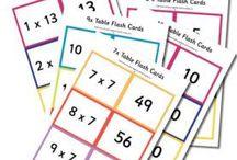 Opetukseen flash cards