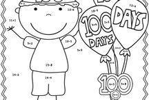 100-dager på skolen