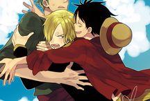 Luffy x Zoro x Sanji