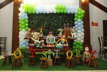 Festa Toy Story / Nesta pasta há toda a magia do mundo de Toy Story no nosso espaço!