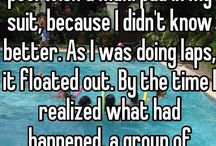 Embarrassing stories
