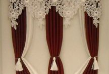 Dollhouse curtains / Tutorials and inspiration