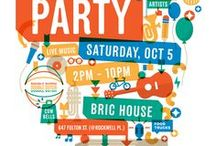 Neighborhood Block Party Invites / Westland Forest Inspiration