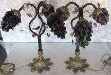 Murano grape lamps / Murano grape lamps from my favorite Ebay seller!