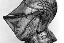 Rustning, hjelmer, masker