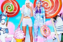 FETCH/BLACK MILK COLLAB / Fetch Floats with Black Milk to launch Unicornia, with a dash of Doughnut time #Fetchfloats #blackmilk #doughnuttime #collab