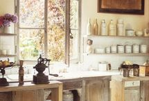 rustic kitchens / kitchens