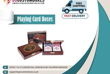 Playing Card Boxes / Playing card boxes is necessary for your playing cards, get now playing card boxes at wholesale price