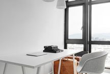 OFFICE / office inspiration with Feng shui tips and furniture.
