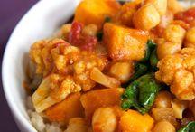 Crockpot veg curry