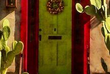 Southwestern Colourful Doors