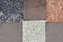 GEOMETRIE  in CORTEN _ Geometries CORTEN / Geometrie disegnate .... Walking in the garden..ORTO