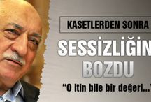 Fethullah Gülen sessizliğini bozdu