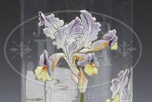 secesní vázy - Moser