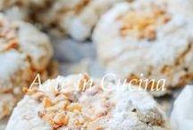 Biscotti morbidi alle nocciole e caffè