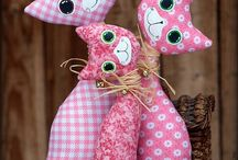 Fabric Craft Tutorials - Cats