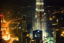 City's at night