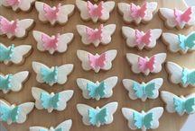 mariposas galletas
