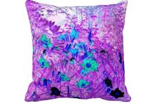 AZ Creative Visions Throw Pillows / Throw pillows that have my artwork on them. / by Annie Zeno