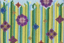 'Flower Meadow' Cross Stitch by Meadow Cross Stitch