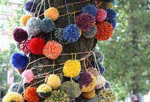 Crochet - Yarnbombing